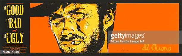 A poster for Sergio Leone's 1966 western 'The Good the Bad and the Ugly' starring Clint Eastwood