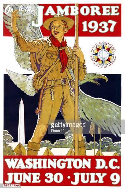 Poster for the 1937 Jamboree Washington DC