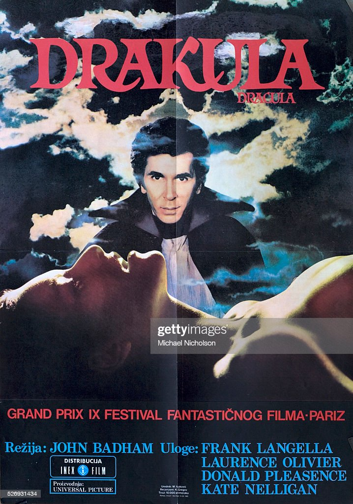 Poster for the 1979 film Dracula based on the Bram Stoker novel of 1897 and directed by John Badham The film was an AngloAmerican coproduction filmed...