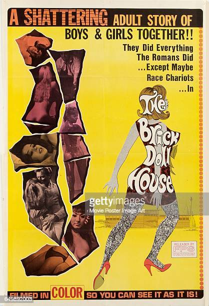 Image contains suggestive contentA poster for the pornographic film 'The Brick Dollhouse' relseased by FPS Ventures 1967 It bears the tagline 'A...