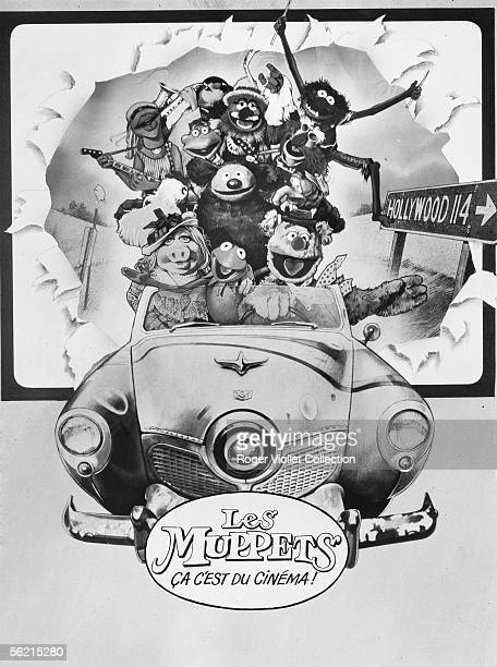 Poster of film of James Frawley 'The Muppet Movie' USA 1979