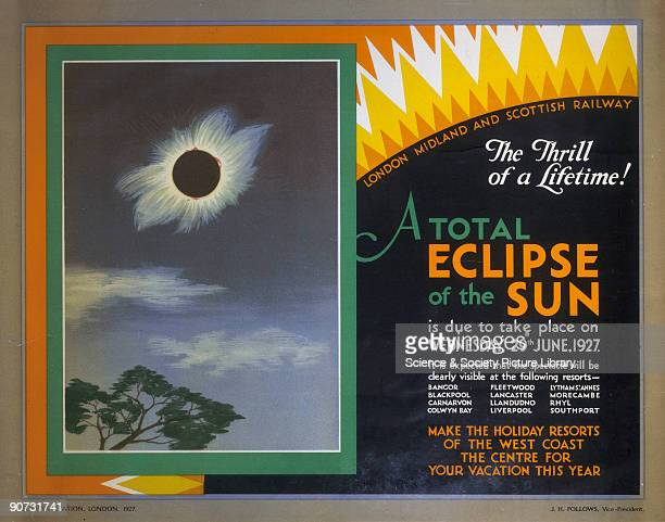 Poster produced for the London Midland Scottish Railway to promote rail travel to resorts along the west coast of Britain from where the 1927 total...