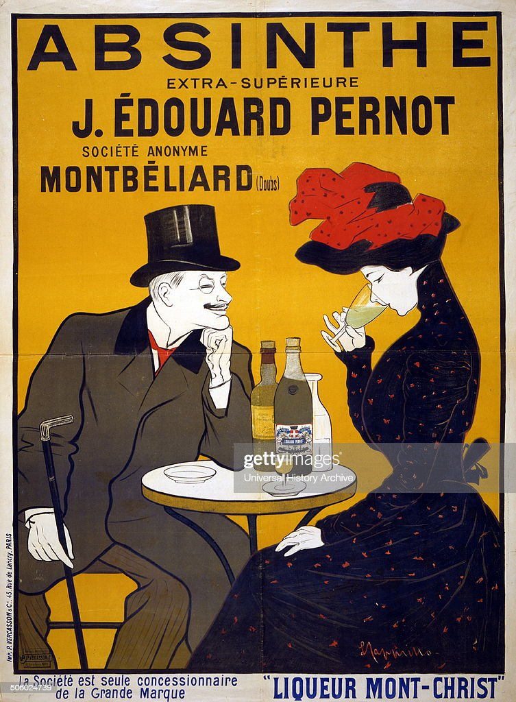 Poster showing a man and woman at a cafe he smiles and watches as she tastes his drink Photo by