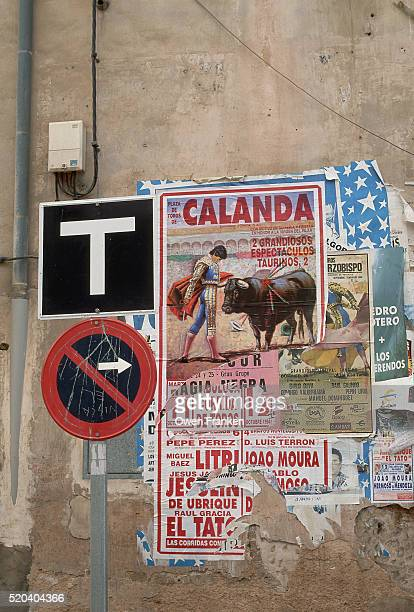 Posters Advertise Bullfighting in Calanda