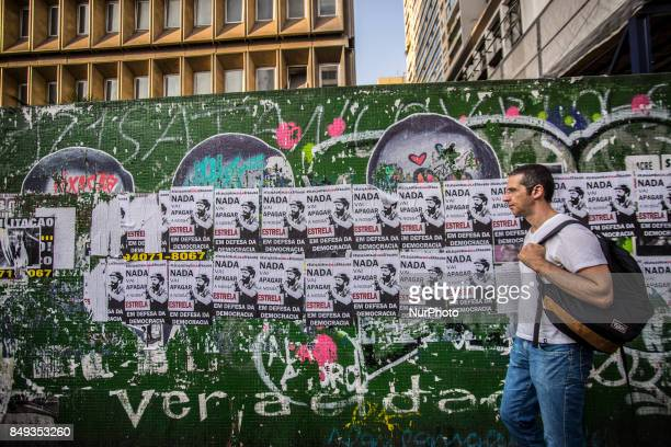 Posters on Paulista Avenue in São Paulo say that election without Lula is fraud Pressed by the statement that former President Luiz Inacio Lula da...