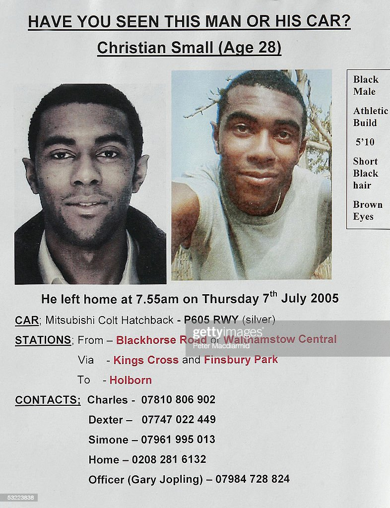 Posters Of The Missing From The London Bomb Blast Photos and