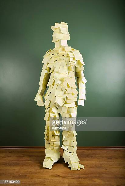 Post-it Mann