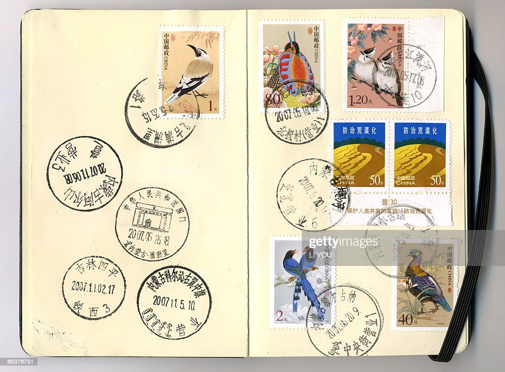 postmarks : Stock Photo