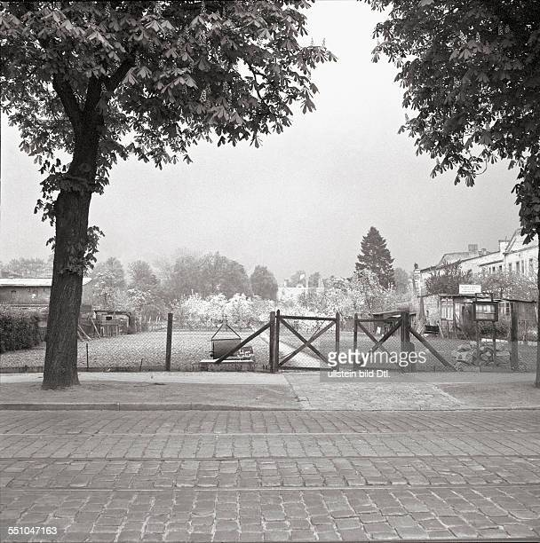 View of the Drakestraße in the near of the Stubenrauchstraße Lichterfelde Photographer Ernst Hahn