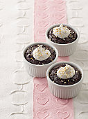 Pot au Chocolate-Coconut Cakes