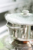 Pot boiling over