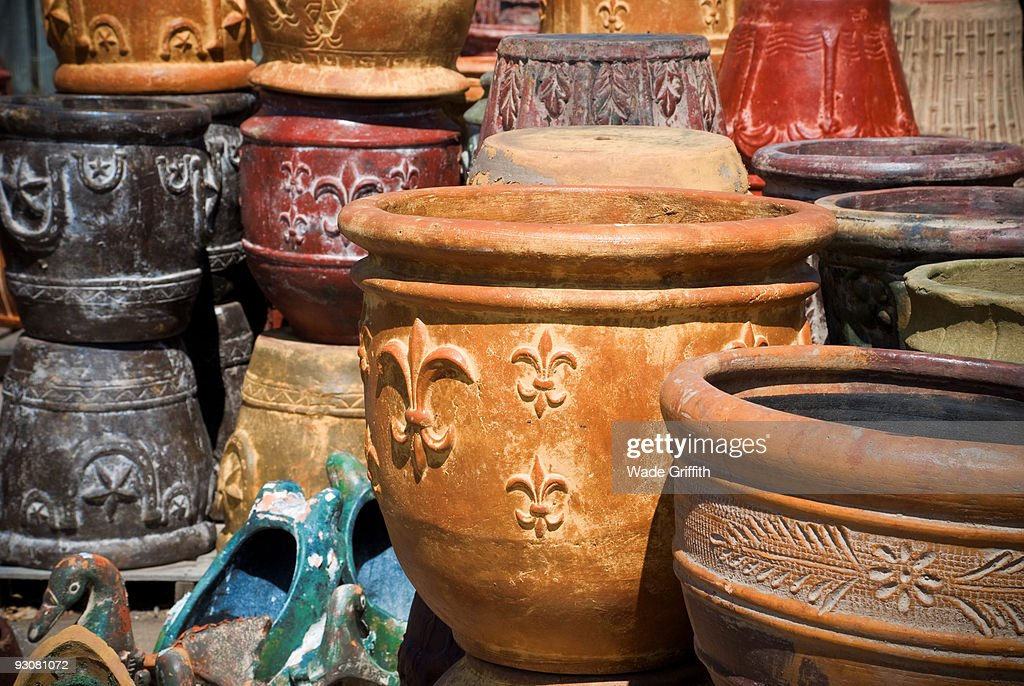Pot For Sale : Stock Photo