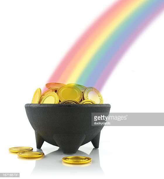 Pentola d'oro e arcobaleno