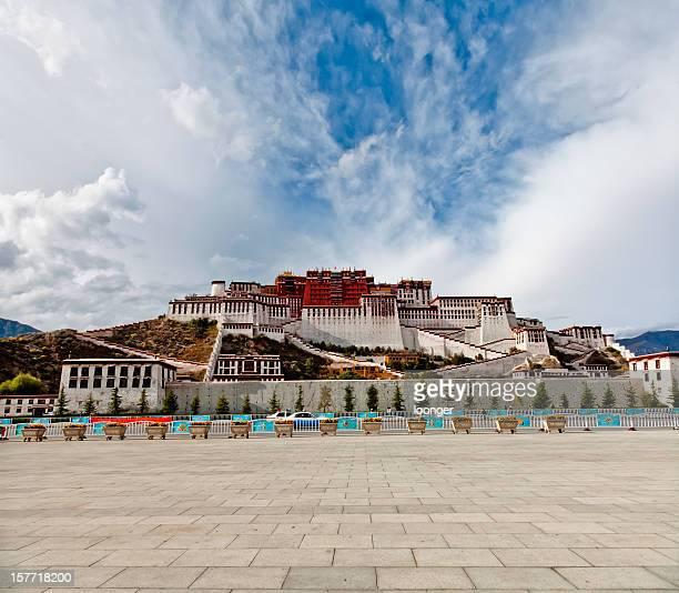 Palacio de Potala en Lhasa, el Tíbet, China