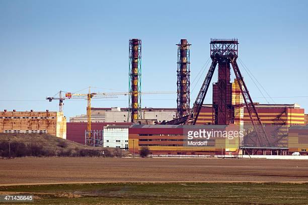 Potash fertilizer factory in Salihorsk