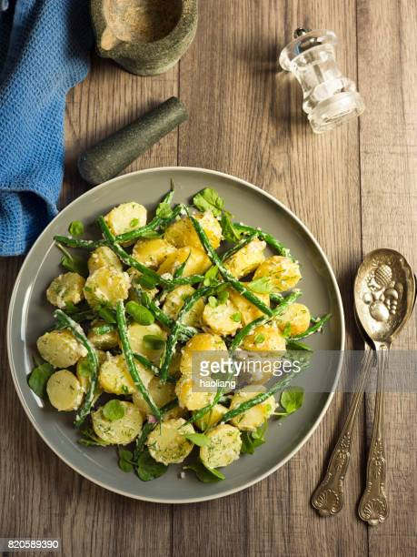 potato and green beans salad