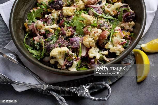 WASHINGTON DC Potato and Roasted Cauliflower Salad photographed in Washington DC