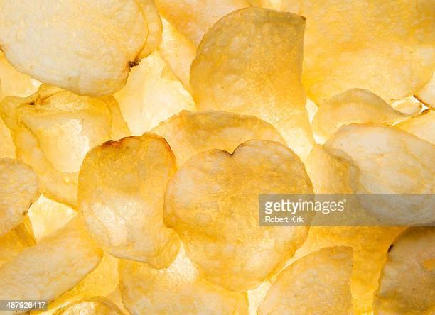 Potato Chip Background