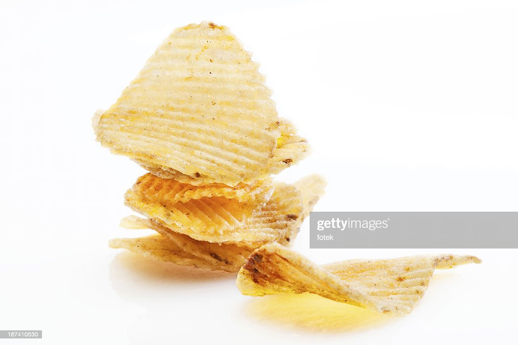 Potato chips : Stock Photo