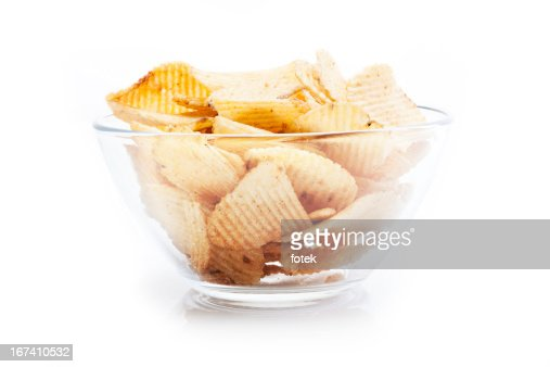 Potato chips : Bildbanksbilder