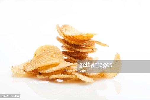 Potato chips : Stock Photo