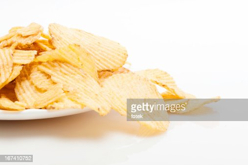 Potato chips : Stockfoto