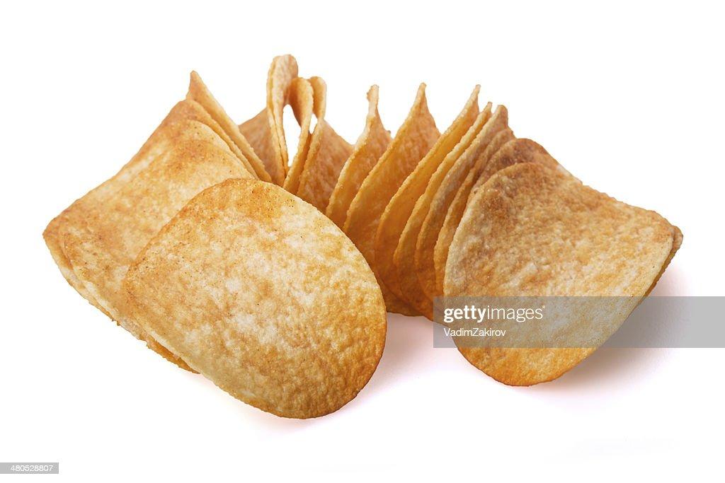 Potato chips : Bildbanksbilder