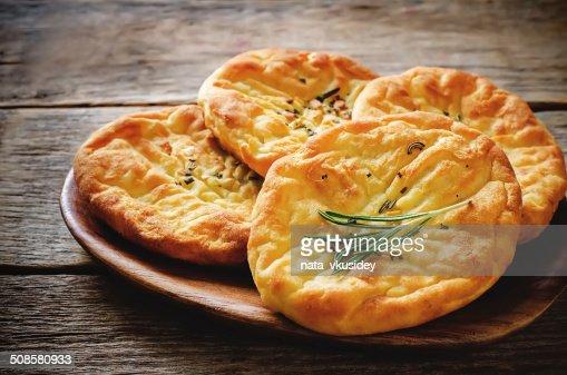 Galettes de pommes de terre au romarin : Photo
