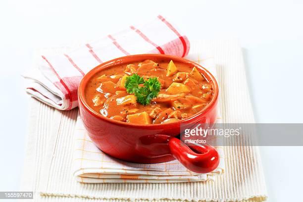 Potato goulash soup