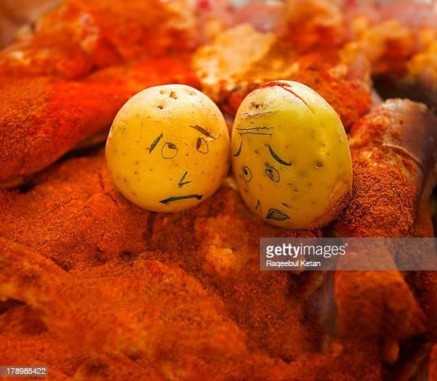 Potato Love in all it's Spicy  Color!