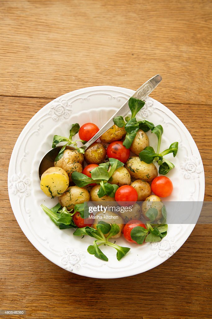 Potato salad : Stock Photo