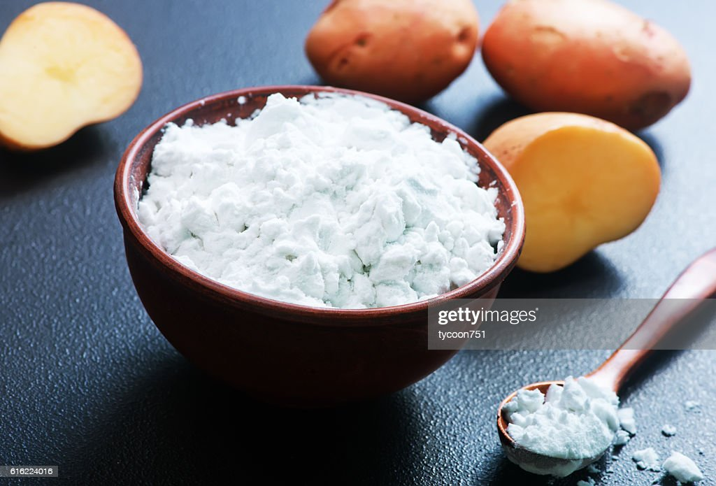 potato starch : Stockfoto