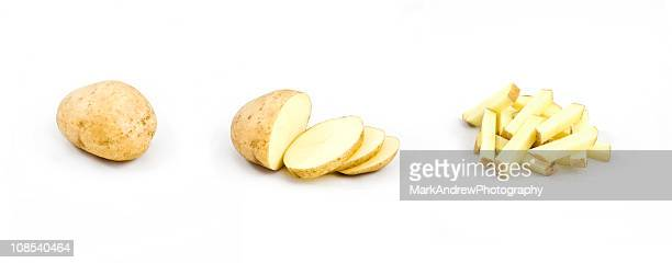 Potato triptych