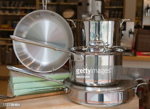 Pots and Pans On Display