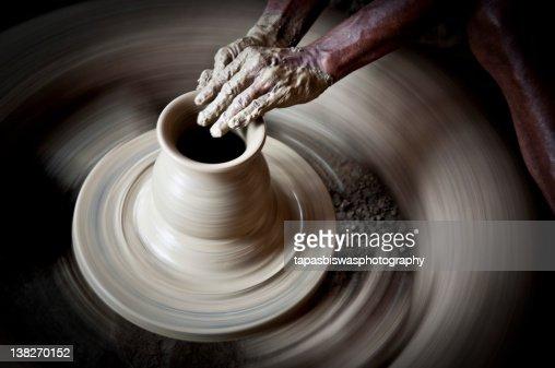 Pottery : Bildbanksbilder