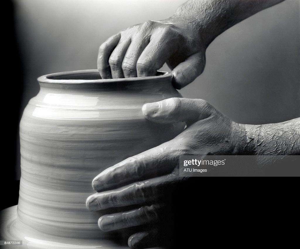 pottery wheel : Stock Photo