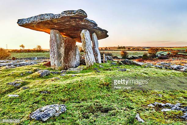 Poulnabrone Dolmen in County Clare