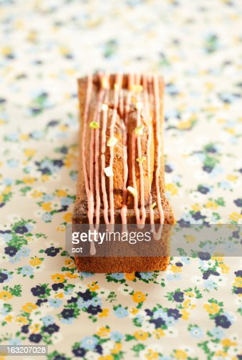 Pound cake : Stock Photo
