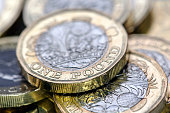New One Pound Coins - UK
