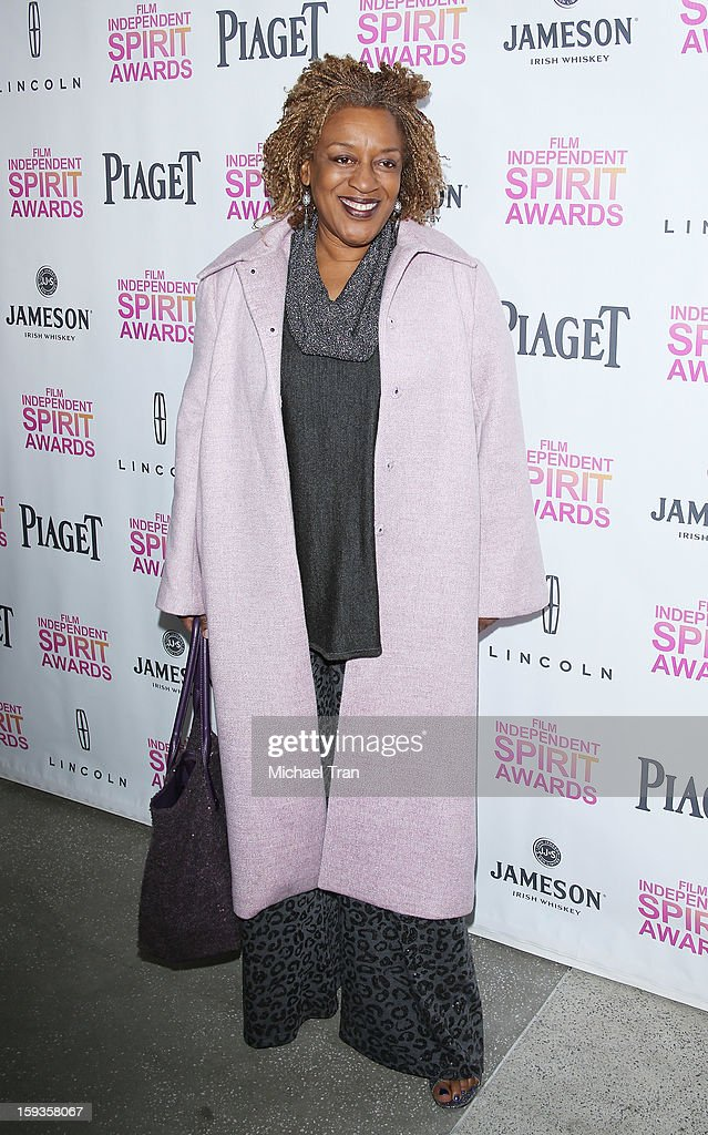 Pounder arrives at the 2013 Film Independent Filmmaker Grant And Spirit Award nominees brunch held at BOA Steakhouse on January 12, 2013 in West Hollywood, California.
