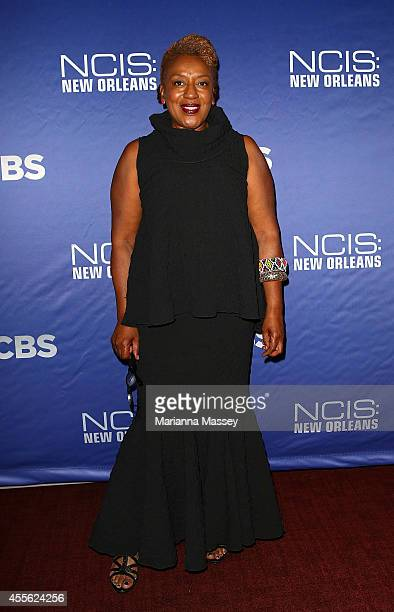 Pounder attends the screening of 'NCIS New Orleans' at the National WWII Museum on September 17 2014 in New Orleans Louisiana