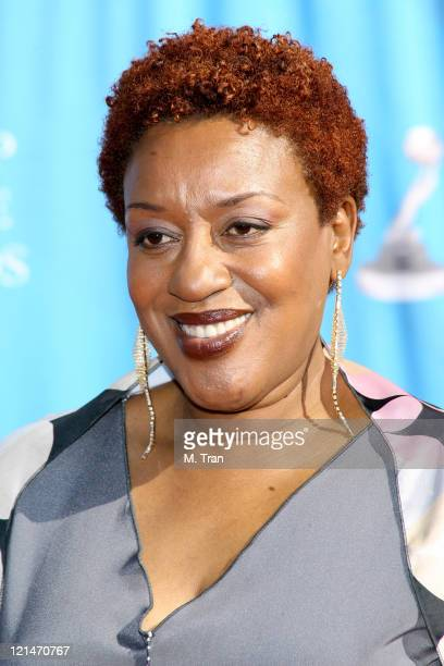 CCH Pounder during 38th Annual NAACP Image Awards Arrivals at Shrine Auditorium in Los Angeles California United States