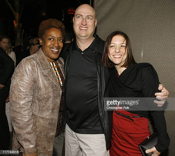 CCH Pounder Shawn Ryan creator and producer and Cathy Cahlin Ryan