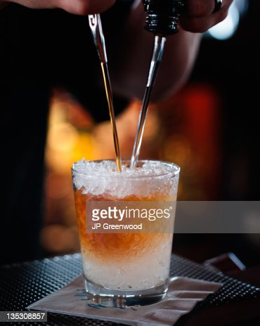 Pouring a drink
