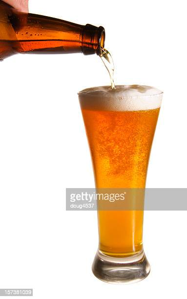 Pouring Beer (w/clipping path)
