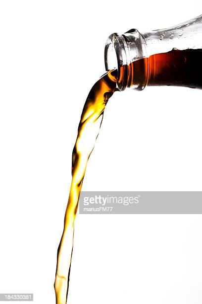 Eingießen cola
