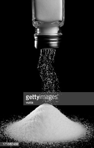 pouring salt