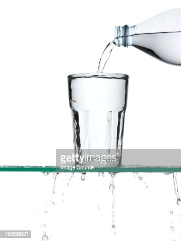 Pouring water : Stock Photo