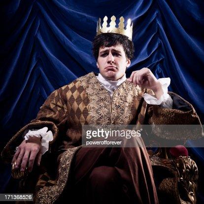 Pouting King
