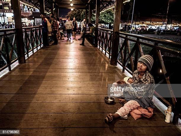 La povertà a Siem Reap Cambogia